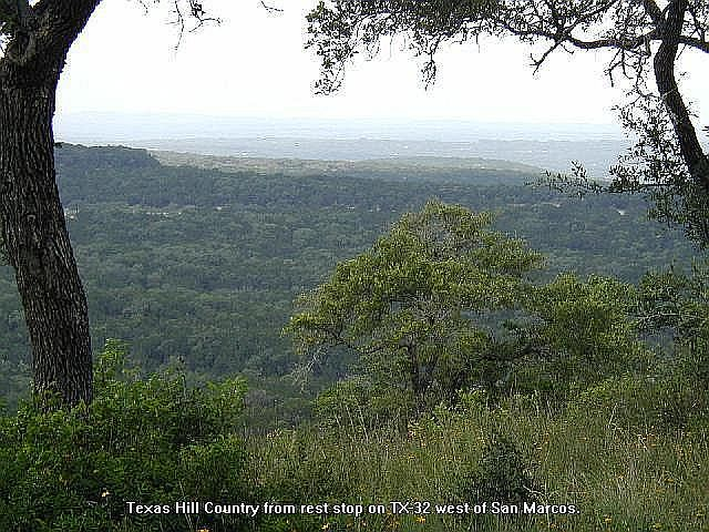 View of the Texas Hill Country