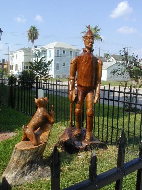 Galveston island august