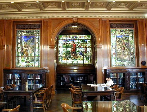 Inside Armstrong Browning Library