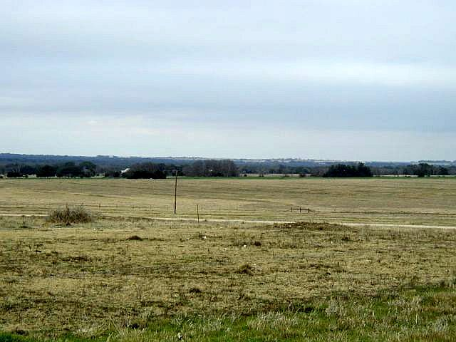 View of countryside toward the Texas White House