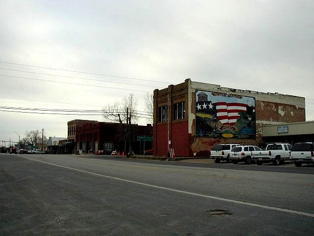 Downtown Crawford, Texas
