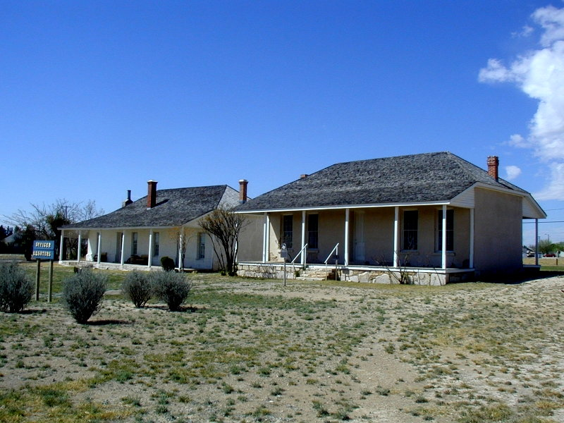 Historic Fort Stockton Officers Housing