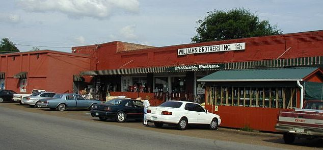 Old Williams Brothers store