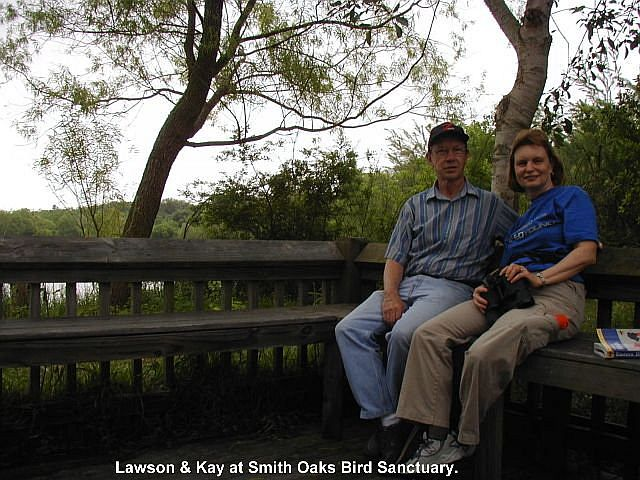 Lawson & Kay at Smith Oaks Bird Sanctuary