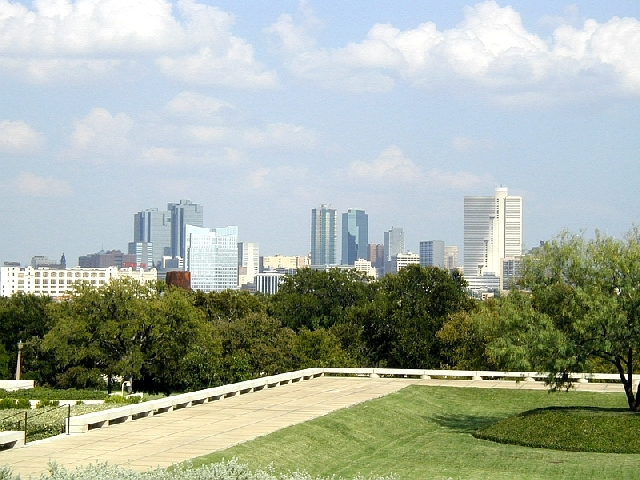 View of Fort Worth from Amon Carter Museum